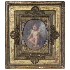 Late 18th Century Italian Portrait of a Cherub