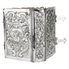 Late 18th Century Italian Silver Book Binding by Marc'antonio Belotto of Padua