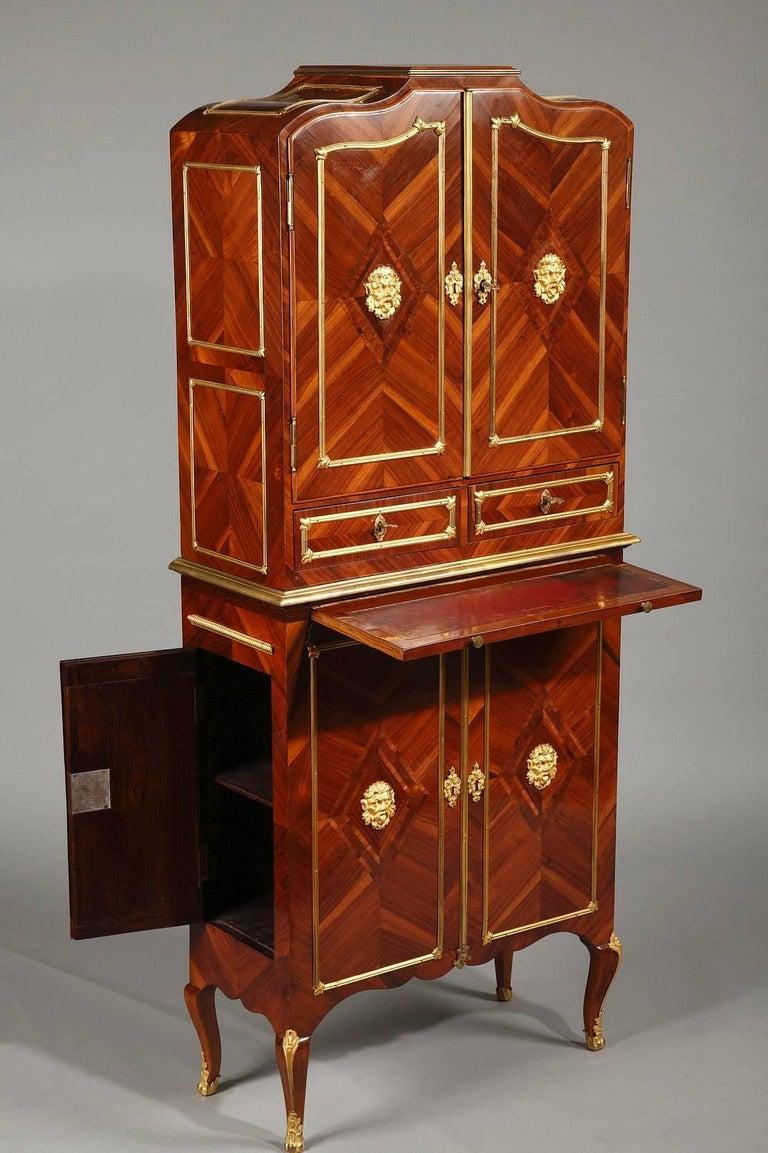 French Late 18th Century Louis XVI Cartonnier Desk For Sale