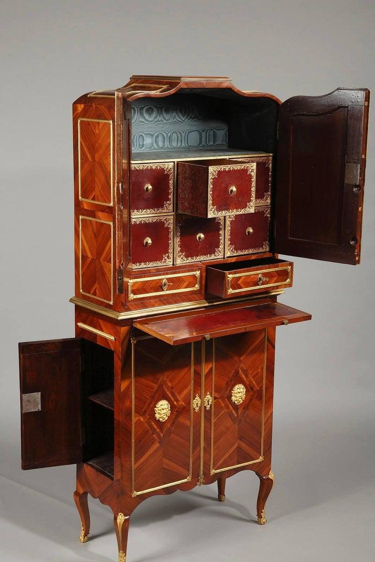 Late 18th Century Louis XVI Cartonnier Desk In Good Condition For Sale In Paris, FR