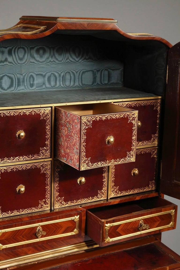 Bronze Late 18th Century Louis XVI Cartonnier Desk For Sale