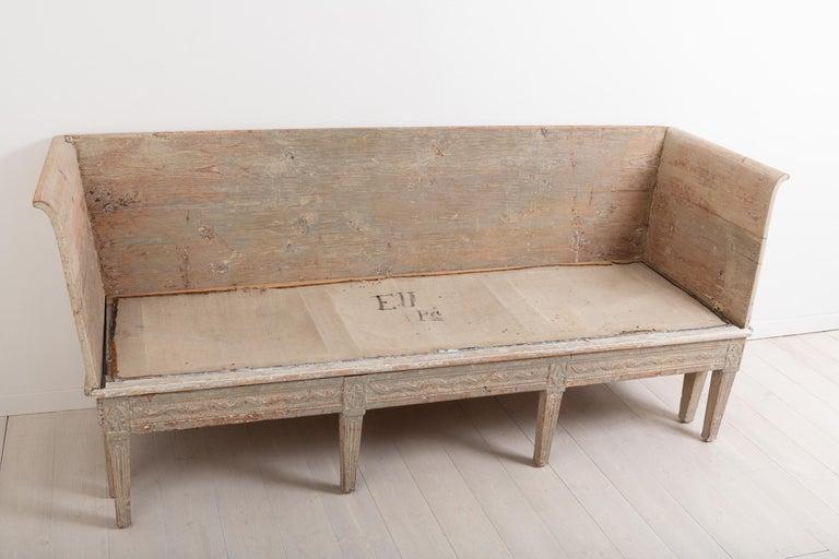 Late 18th Century Neoclassic Swedish Sofa For Sale 5