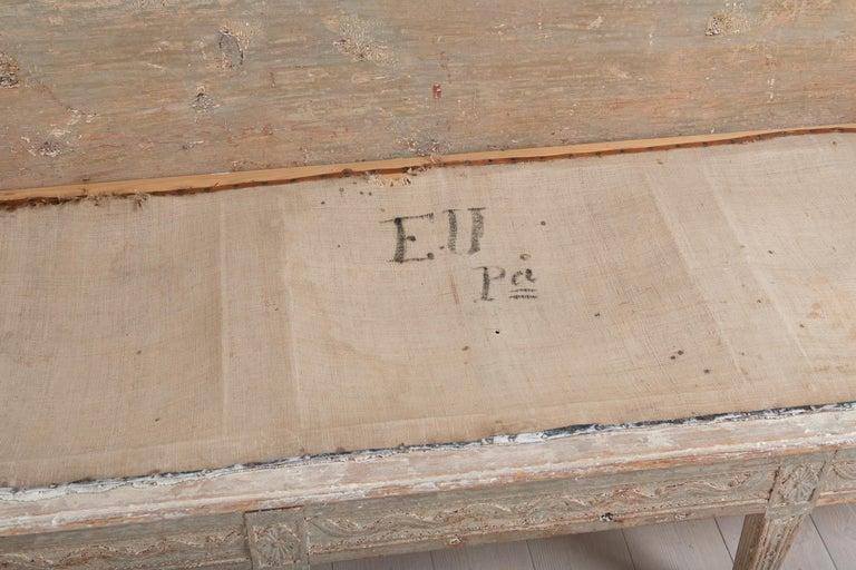 Late 18th Century Neoclassic Swedish Sofa For Sale 6