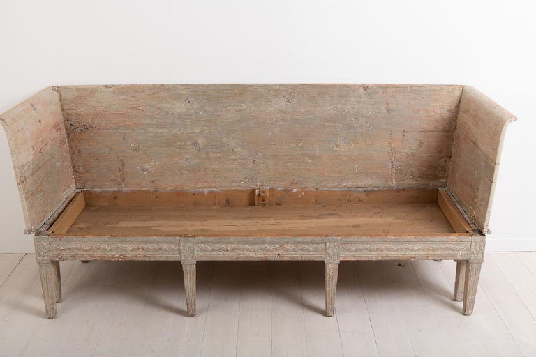 Late 18th Century Neoclassic Swedish Sofa For Sale 7