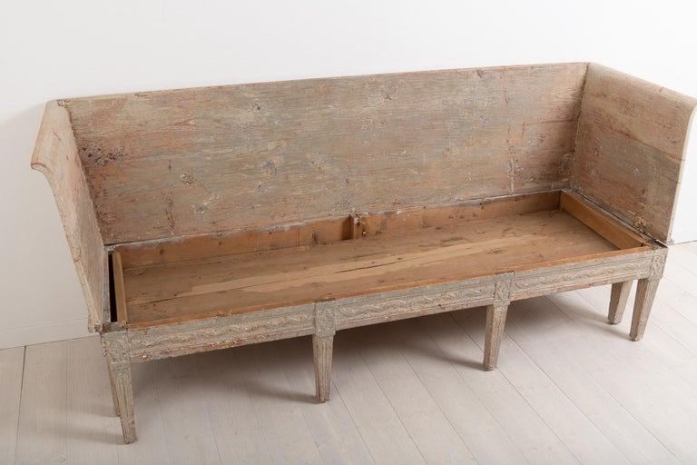 Late 18th Century Neoclassic Swedish Sofa For Sale 8