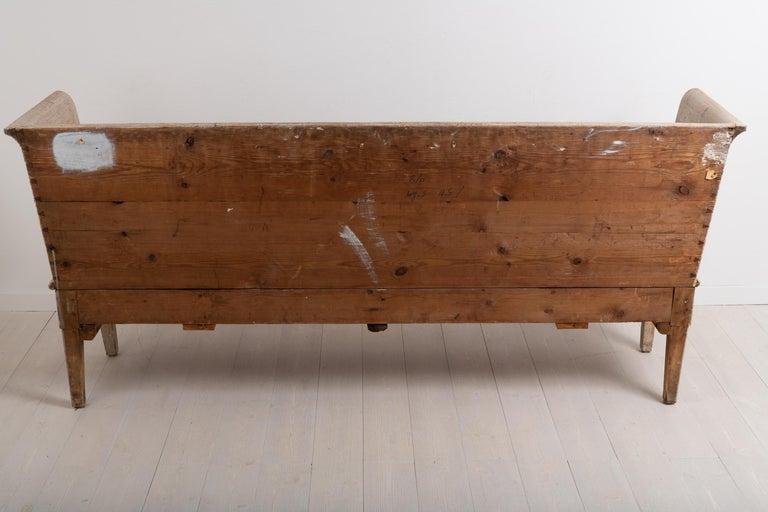 Late 18th Century Neoclassic Swedish Sofa For Sale 9