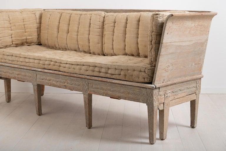 Late 18th Century Neoclassic Swedish Sofa For Sale 1