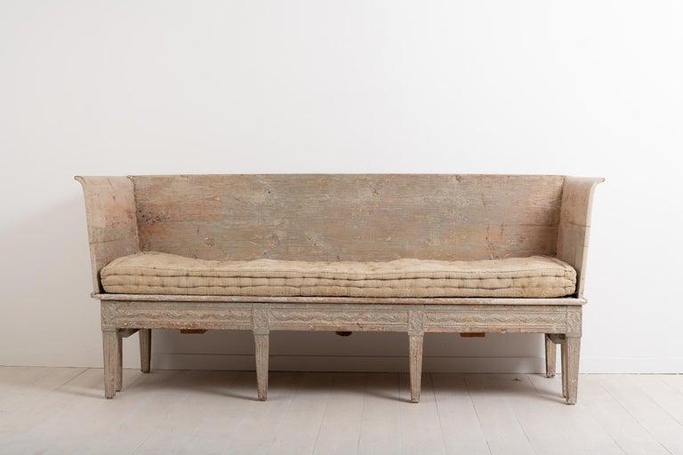 Late 18th Century Neoclassic Swedish Sofa For Sale 2