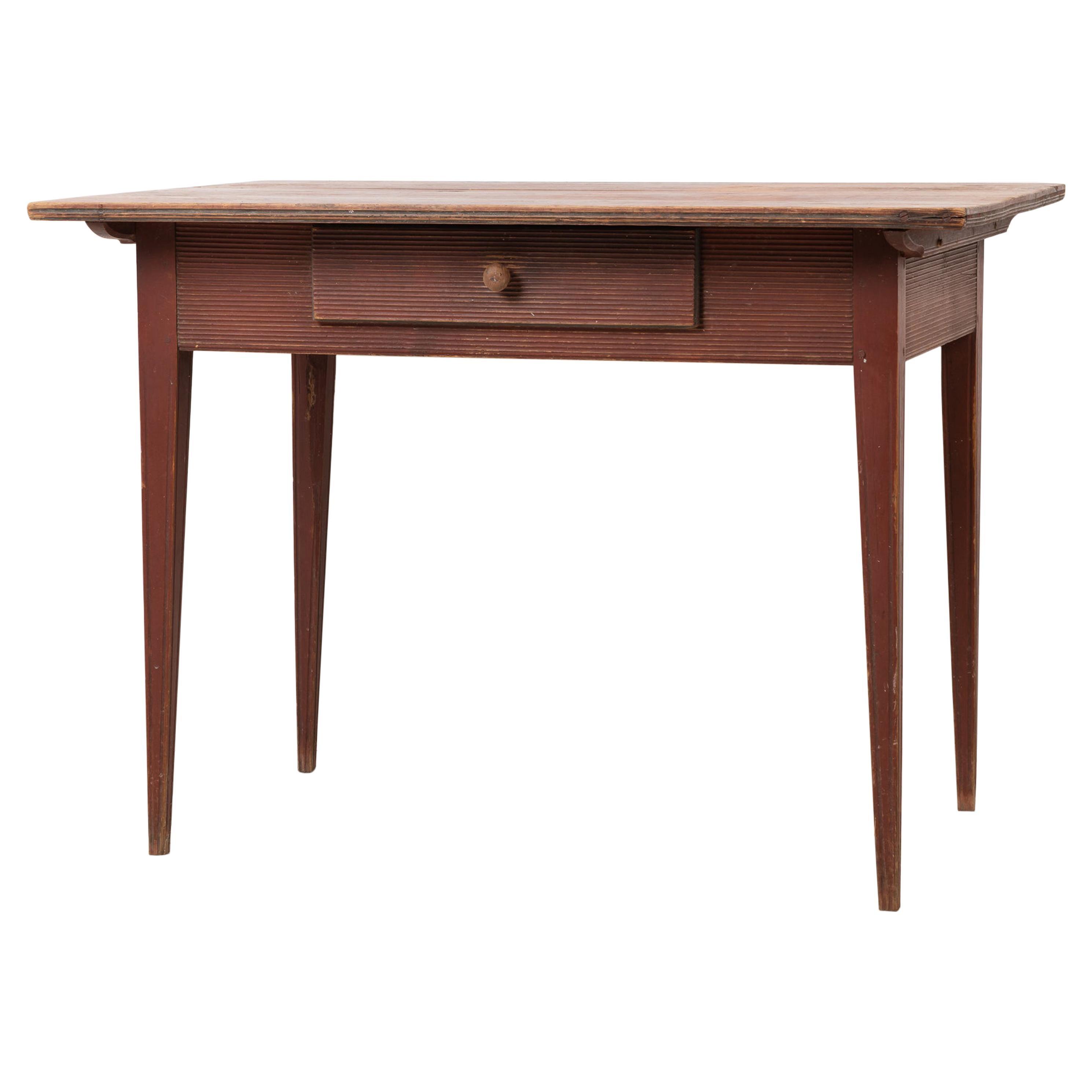 Late 18th Century Original Neoclassical Table