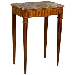 Late 18th Century Portuguese Marquetry Console/Side Table