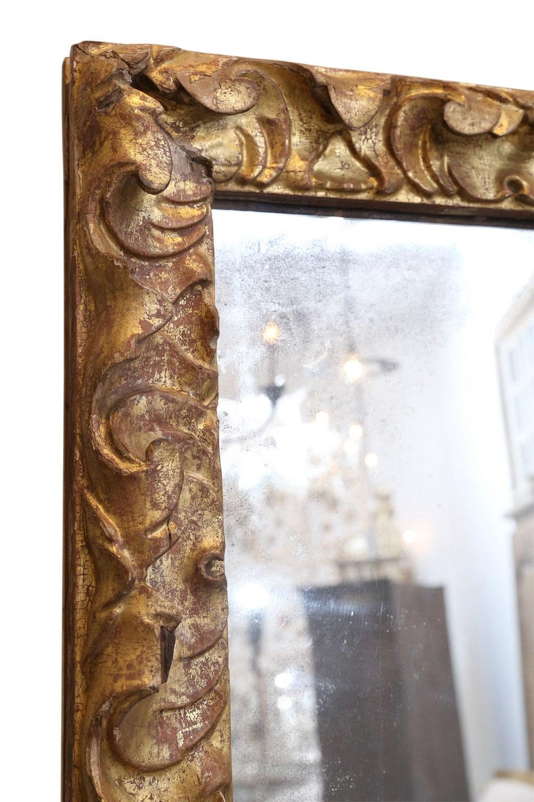 Late 18th Century Portuguese Mirror For Sale 1