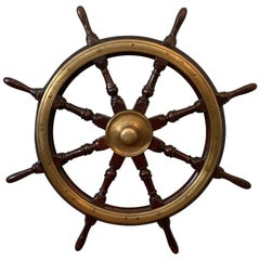 Late 18th Century Ships Wheel