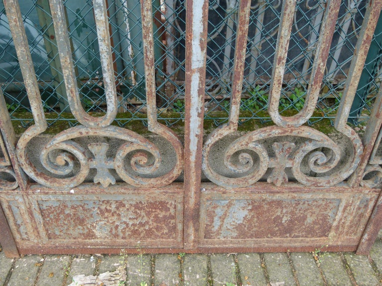 Late 18th Century Spanish Iron Gate For Sale 4