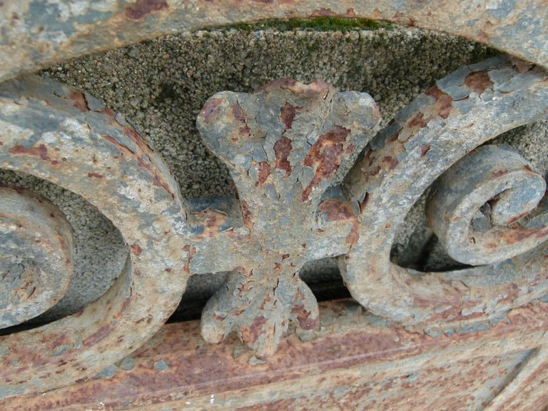 Late 18th Century Spanish Iron Gate For Sale 5