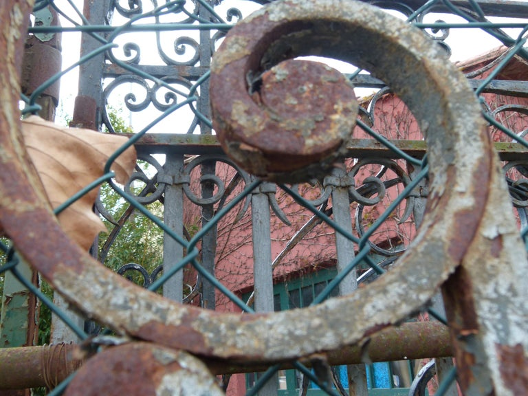 Late 18th Century Spanish Iron Gate For Sale 7