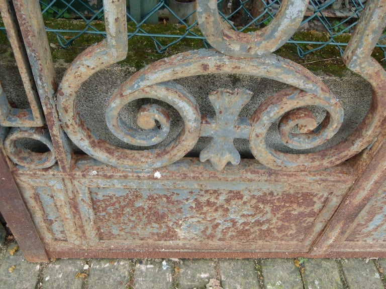 Late 18th Century Spanish Iron Gate For Sale 3