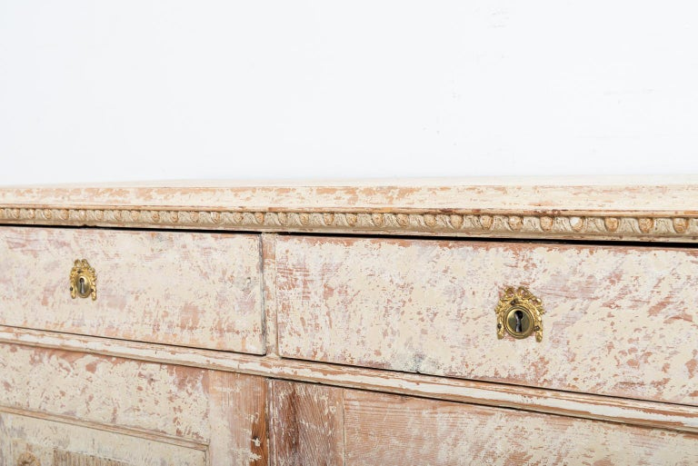 Late 18th Century Swedish Double Doored Gustavian Sideboard For Sale 3