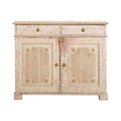 Late 18th Century Swedish Double Doored Gustavian Sideboard