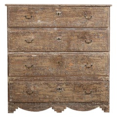 Late 18th Century Swedish Gustavian Bureau or 'Drag Kista'