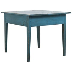 Late 18th Century Swedish Gustavian Side Table in Pine