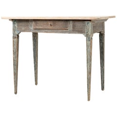 Late 18th Century Swedish Gustavian Wall Table