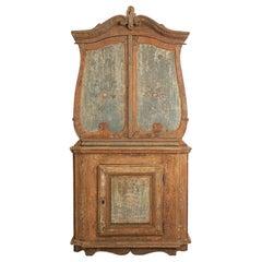 Late 18th Century Swedish Rococo Cabinet