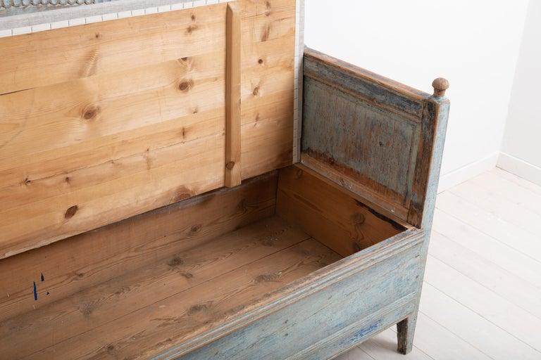 Late 18th Century Unusual Swedish Gustavian Sofa 6