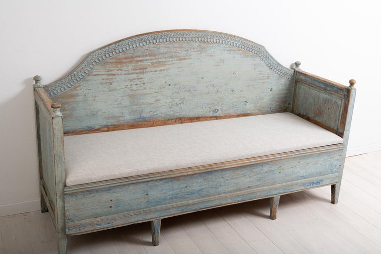 Late 18th Century Unusual Swedish Gustavian Sofa 7