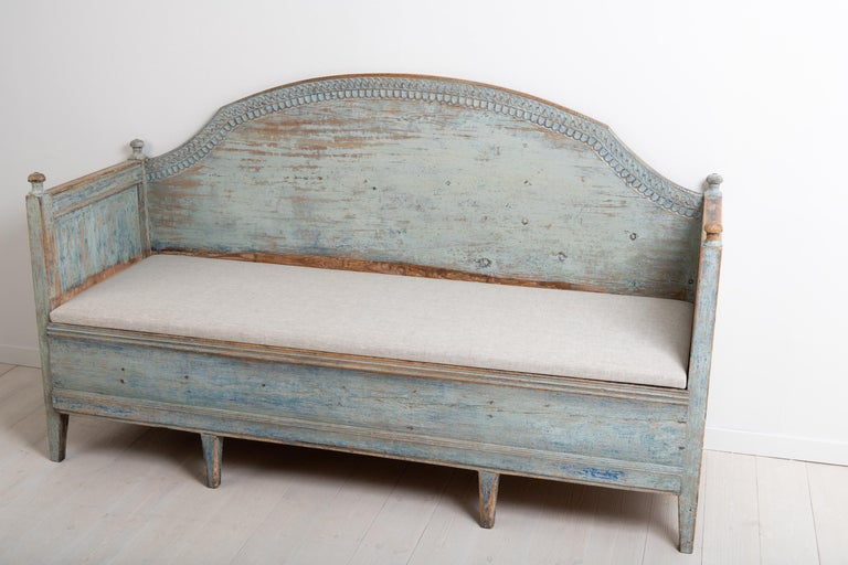 Late 18th Century Unusual Swedish Gustavian Sofa 9