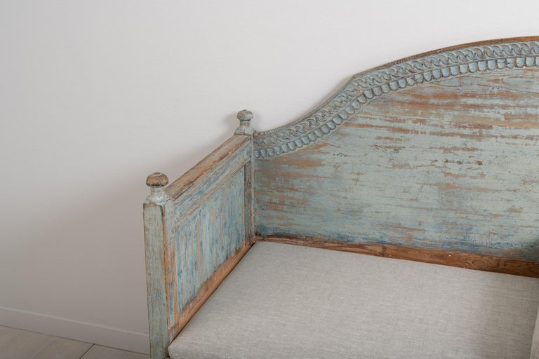 Late 18th Century Unusual Swedish Gustavian Sofa 1