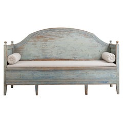 Late 18th Century Unusual Swedish Gustavian Sofa