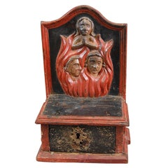 Late 18th-Early 19th Century Church Collection Box