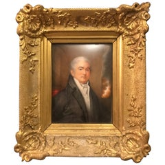 Late 18th-Early 19th Century English Miniature Portrait of John Kensington