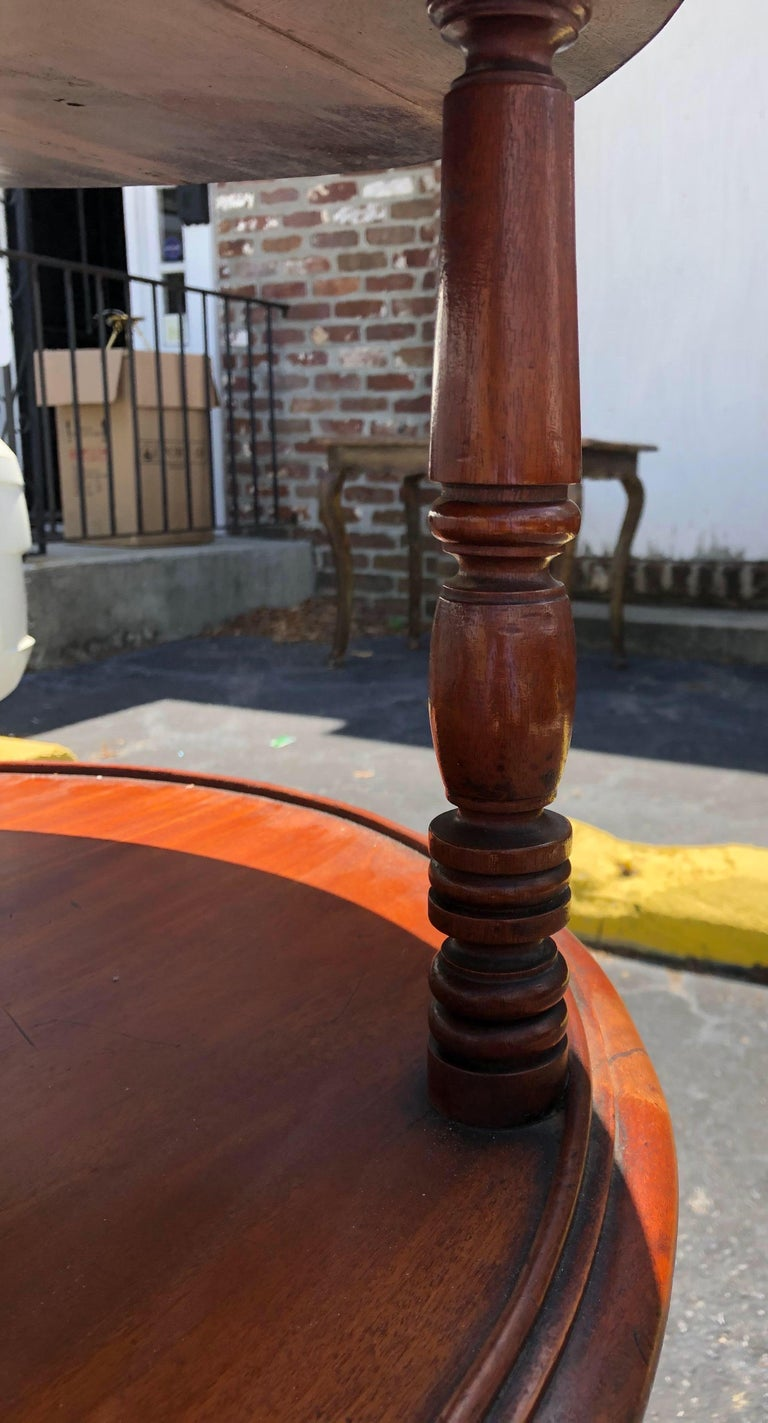 Late 18th-Early 19th Century Georgian Mahogany Dumbwaiter For Sale 6