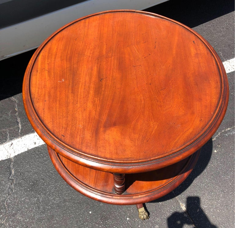 Late 18th-Early 19th Century Georgian Mahogany Dumbwaiter For Sale 9