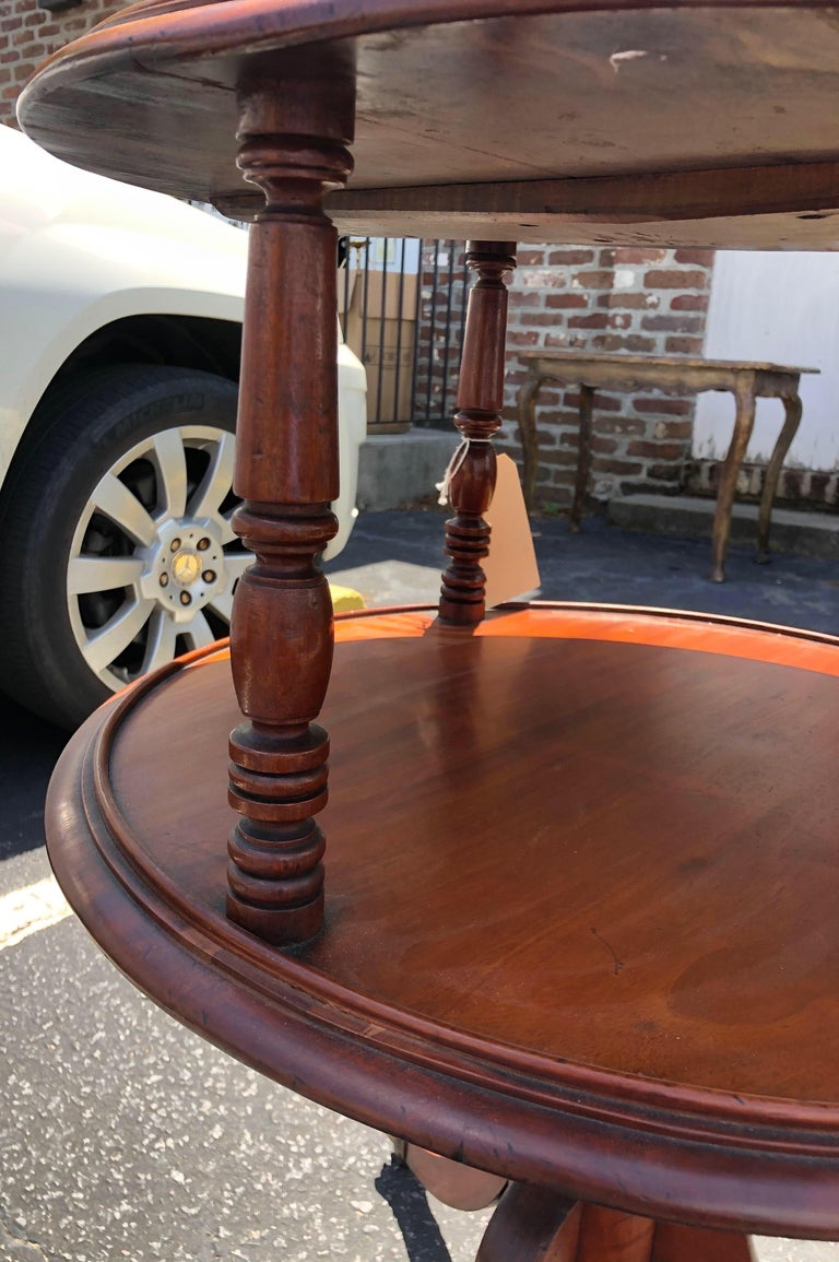 Late 18th-Early 19th Century Georgian Mahogany Dumbwaiter For Sale 5