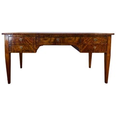 Late 18th or Early 19th Century Italian Walnut Desk with Drawers