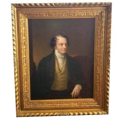 Late 18th or Early 19th Century Portrait of a Gentleman Oil On Canvas