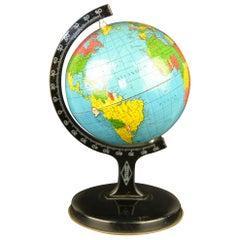 Late 1920s Tin Globe Reliable Series England