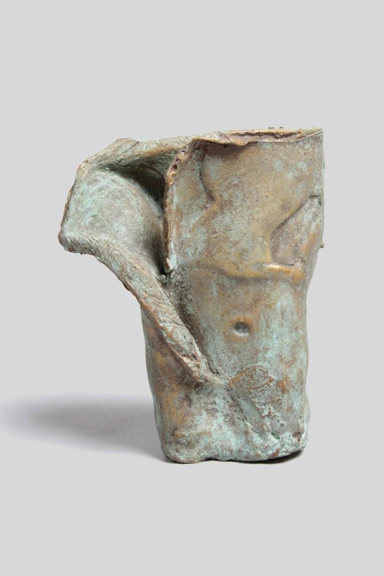Late 1960s Brutalist Bronze Sculpture For Sale 4