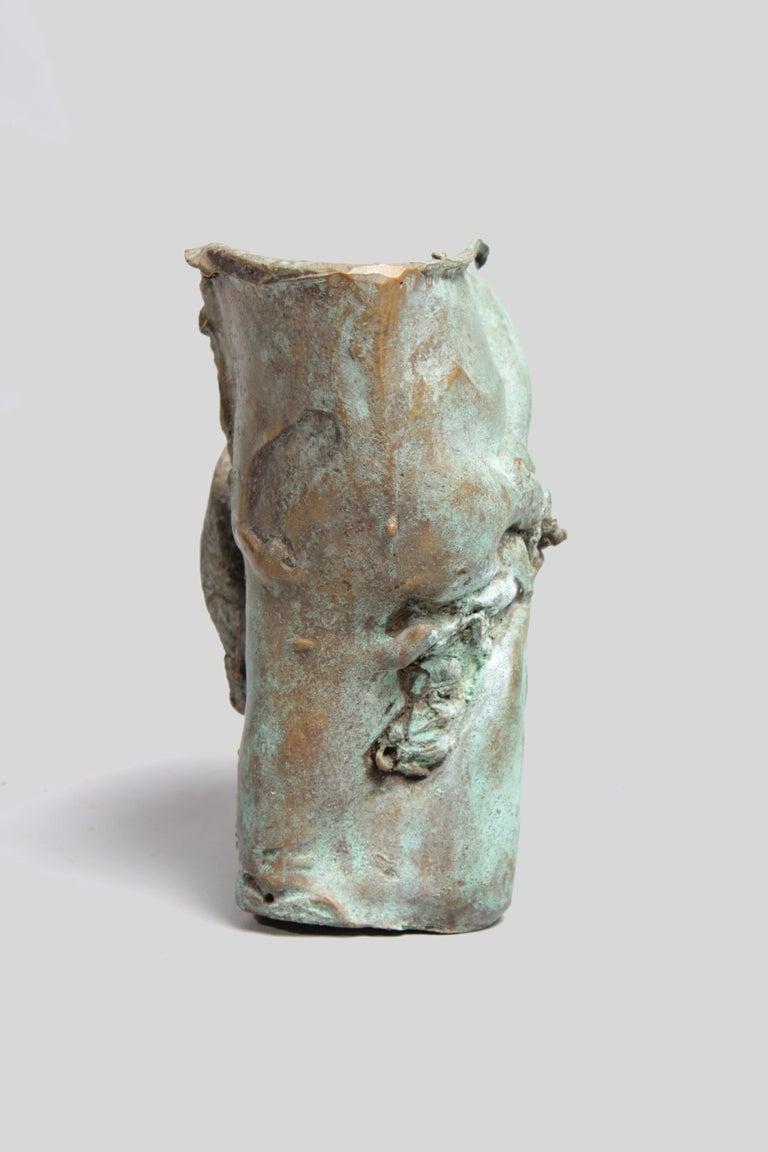 Late 1960s Brutalist Bronze Sculpture For Sale 5