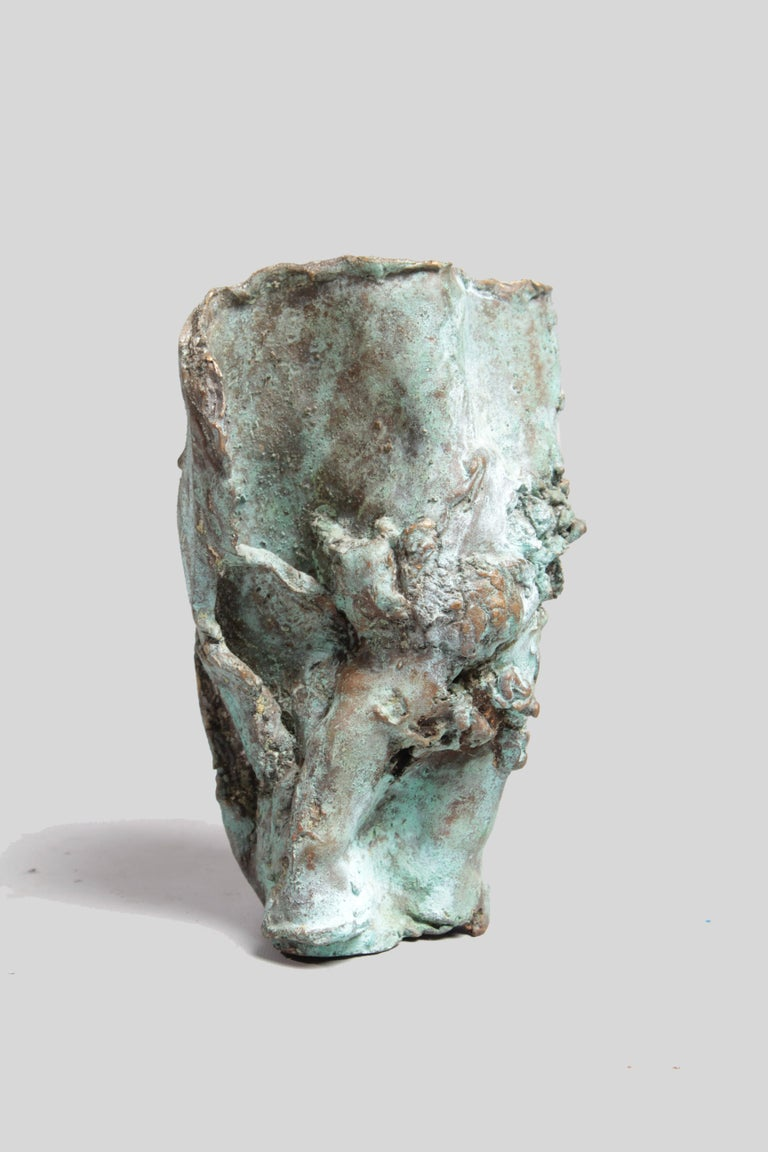 Late 1960s Brutalist Bronze Sculpture In Excellent Condition For Sale In Notting Hill, GB