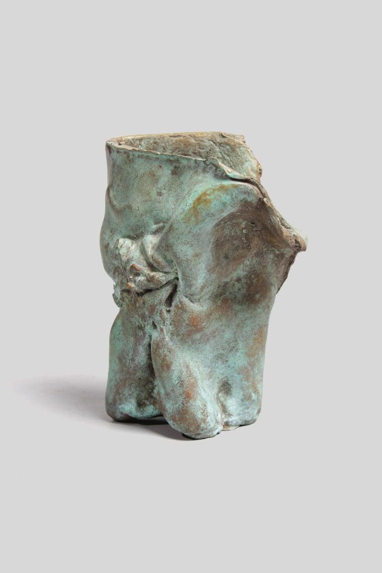 Late 1960s Brutalist Bronze Sculpture For Sale 2