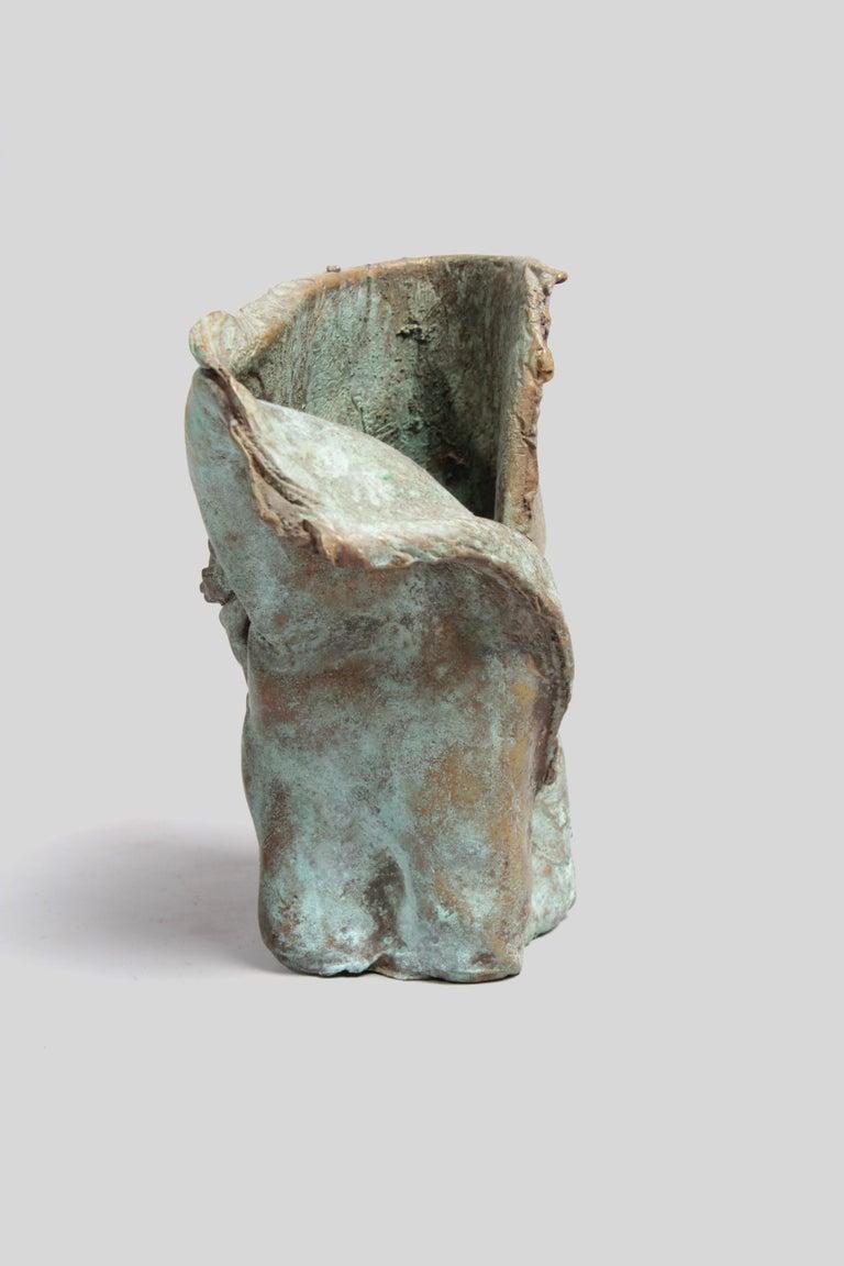 Late 1960s Brutalist Bronze Sculpture For Sale 3