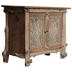 Late 19th Century French Naturalistic Buffet