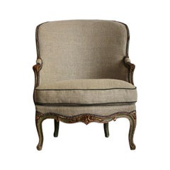 Late 19th Century French Painted Armchair