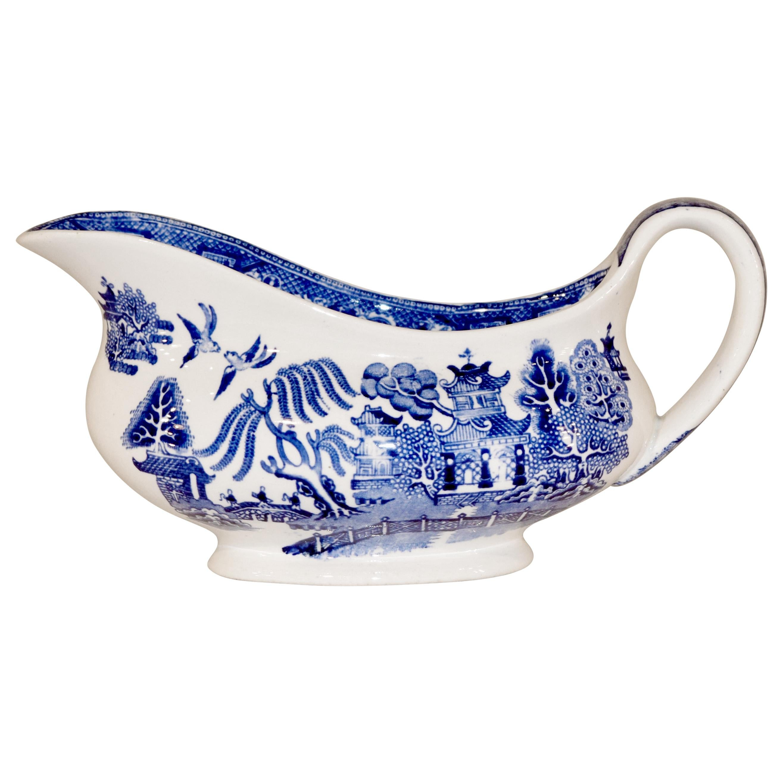 Late 19th Century Adams Gravy Boat