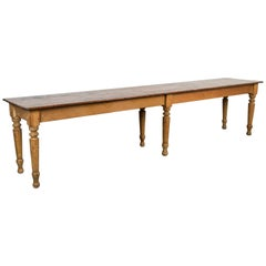 Late 19th Century American General Store or Harvest Table