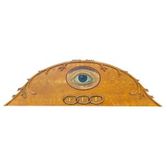 Late 19th Century American Odd Fellows Lodge Over-Door Arch