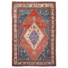 Late 19th Century Antique Bakshaeish Wool Rug